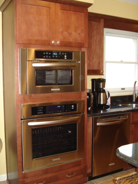 ... Kitchenaid Built In Convection Microwave
